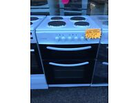 COOKWORKS 60CM SOLID TOP ELECTRIC COOKER