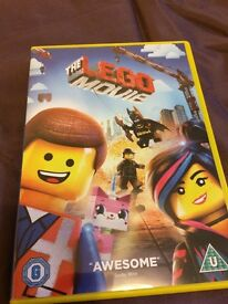 The Lego movie dvd