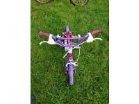 Pink Child bicycle