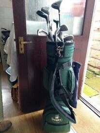 Golf club set and bag for sale