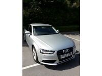 A clean AUDI A4 with a fairly low mileage.