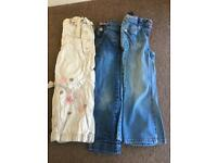 Girls 3-4 years trousers / jeans
