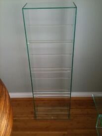 Green Apple Glass Contemporary & Modern CD/DVD/Blue-Ray Stand cost just short of £300