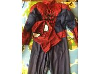 Disney Store Spider-Man costume with mask