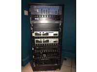 Amplifier rack for sale