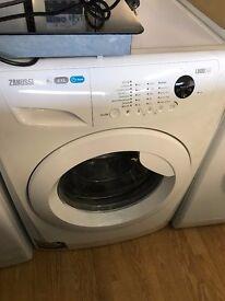 zanussi washing machine 8kg