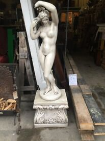 Stone statue of 'Chastity'