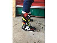 Motox boots alpinestars tech 7 size 11