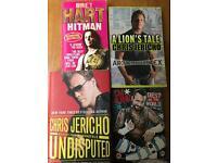 WWE Wrestling books/ DVDs