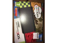 NEW Nintendo 3ds (Black) with charger and games