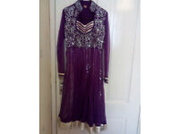 asian dress party frock size 8-10 (S)