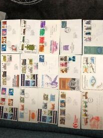 Over 300 First Day Covers for Sale - individually or as a lot