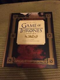 Game of Thrones inside season 3 & 4 book