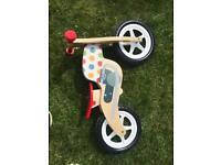 ELC Wooden balance bike
