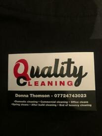 Cleaning vacancy