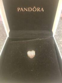 Heart pandora charm genuine