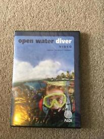 Diving PADI open water DVD, free