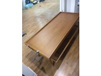 Retro Wooden Clothing Display Table