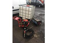 PETROL PRESSURE WASHER AND GENERATOR PLUS TANK £450