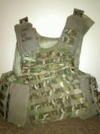 British army body armer