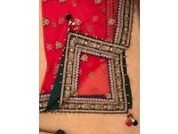 Pure Georgette Gorgeous Bridal Wedding Lengha