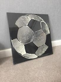 Football Print Canvas (Never Opened & Sealed)