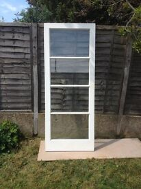 Internal glazed door , used but in excellent condition