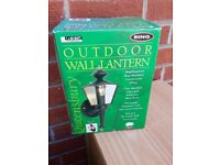 Outdoor wall lantern. Garden light
