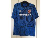 X2 Vintage Manchester United Shirts