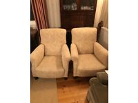 Set of 3 armchairs