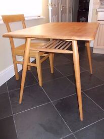Ercol small dining table 1960s to early 1970s