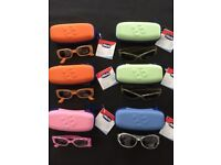 Kids Sunglasses 6 Pairs Chicco sunglasses with cases new Polarized 100% UV Protection 12m+