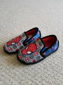 Size 11 spiderman slippers