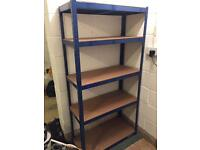 Heavy duty shelving for garage or shed 180x90x40cm - excellent condition