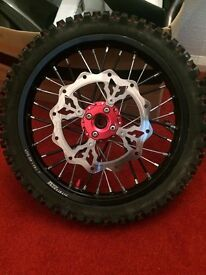 Pitbike frame and parts