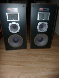 3-way vintage speakers system