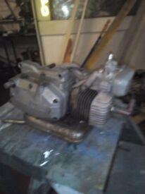 Fantic motorboke engine