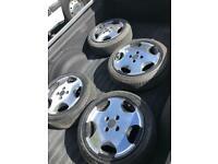 Estoril Vw alloy wheels golf classic Bridgestone tyres golf polo