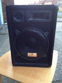 Pair of auna speakers