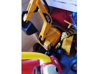 Childrens jcb digger in near enough new condition