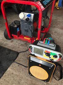 4 kva diesel electric start generator