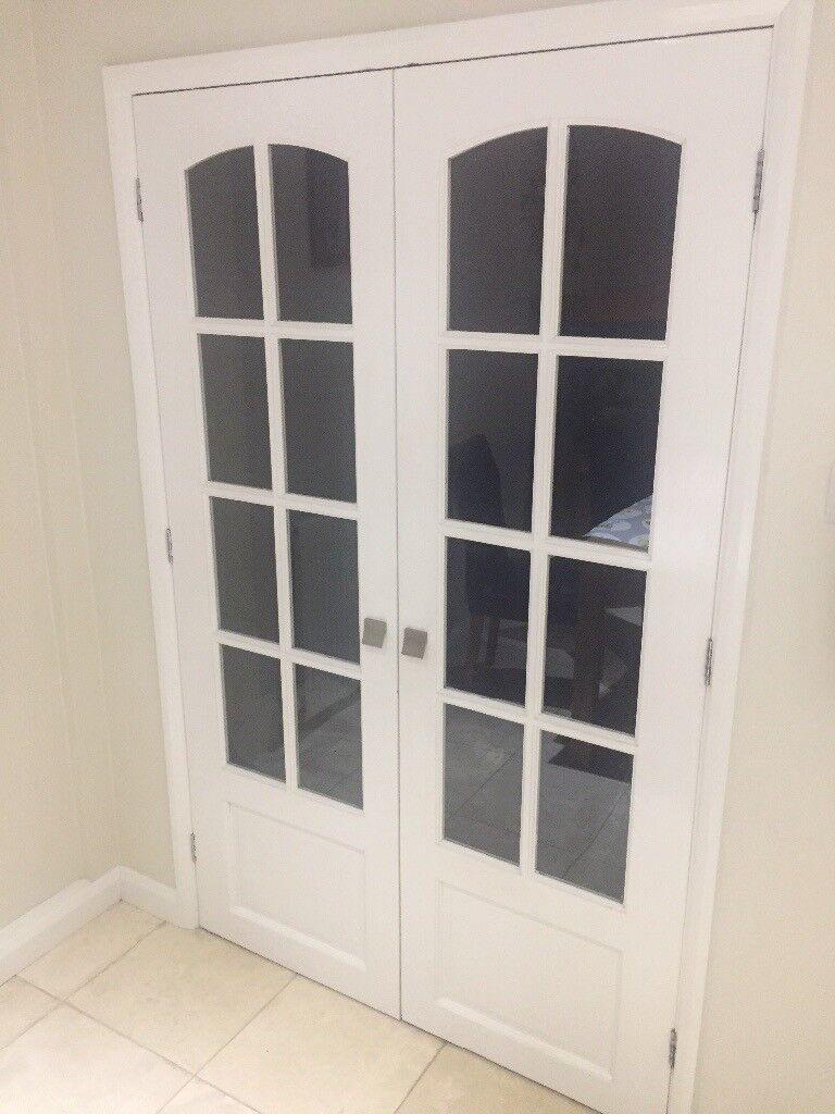 Glazed Internal Doors Newland 9 Panel Wickes