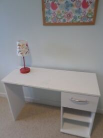 White children's Desk with draw