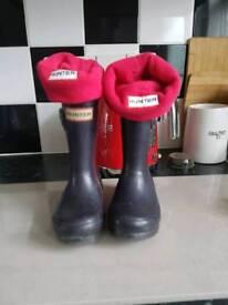 Hunter wellies boots