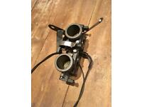 SEADOO RXDI THROTTLE BODY WITH TPS SENSORS AND THROTTLE CABLE, XPDI GTI 951cc