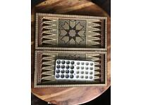 Handmade Iranian chess & backgammon