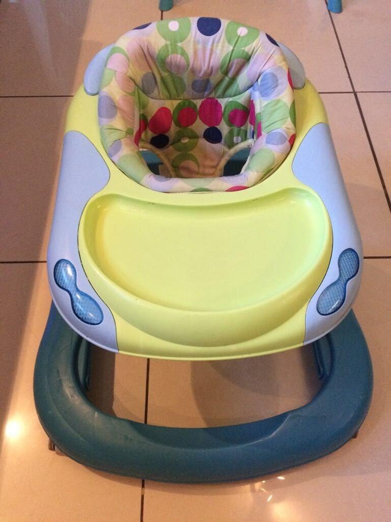1be128eea Baby bundle (inc walker   bouncer   ball pool   gym) £35