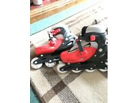 Ladies roller skates with protection pads!! Bargain!!