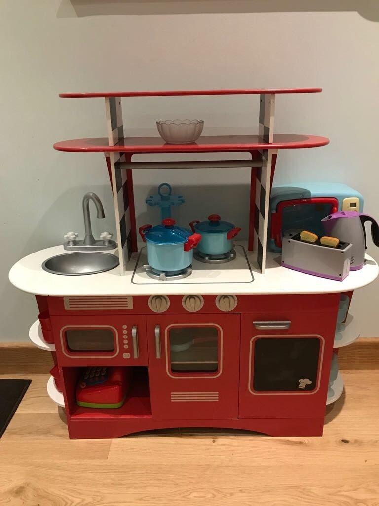 Mothercare Children S Wooden Toy Kitchen In Exminster Devon