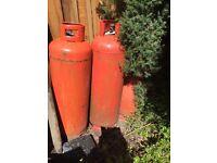 Gas bottles - 47kg